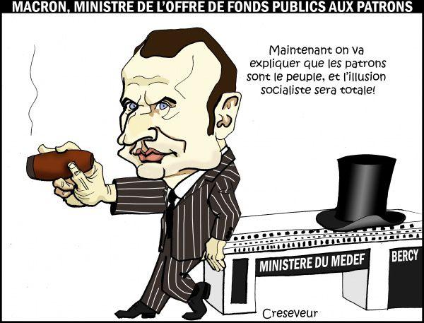 Le vrai visage d'Emmanuel Macron