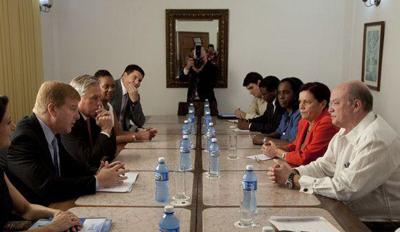 Rencontre à la Havane des représentants des Chambres de commerce de Cuba et des Etats-Unis
