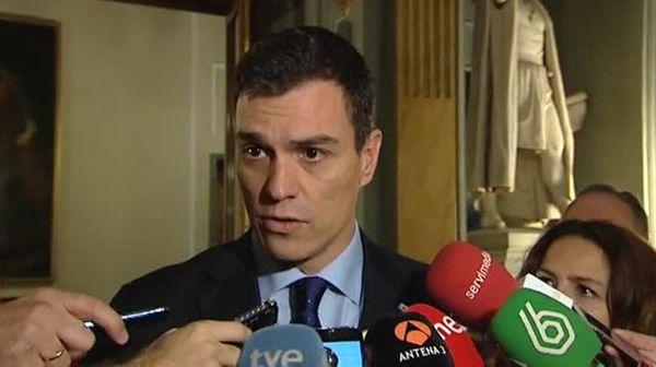Pedro Sanchez le leader du PSOE