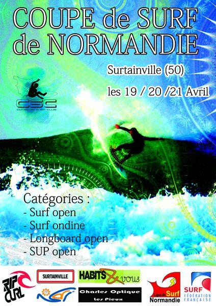 Coupe de Surf de Normandie 19/20/21 Avril