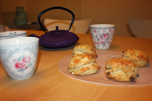 Tea time &amp&#x3B; scones maison !