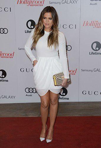 Khloe Kardashian s'affiche pour la première fois sans sa bague sur le tapis rouge !