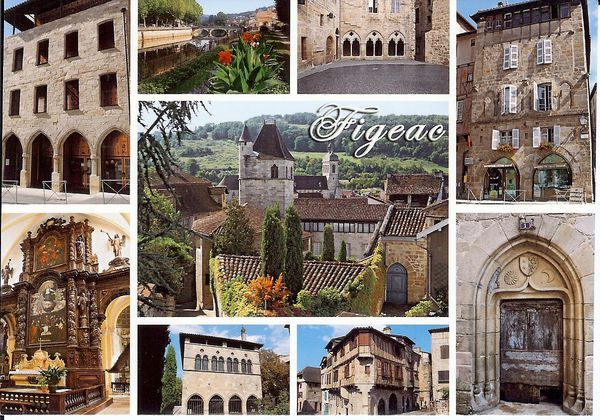 Carte Figeac