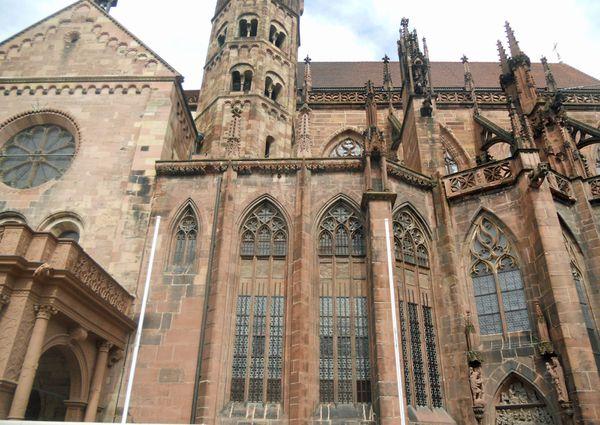 cathédrale Fribourg forêt-noire