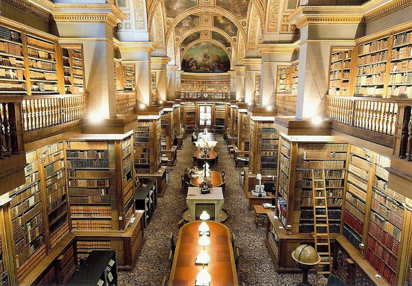 la bibliothèque du sénat