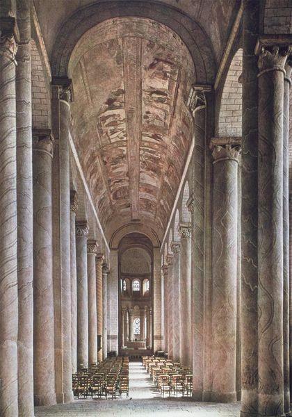 Les peintures murales de la nef de Saint-Savin-sur-Gartempe