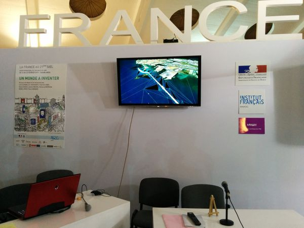 Pavillon France - salon du livre de Casablanca 2015