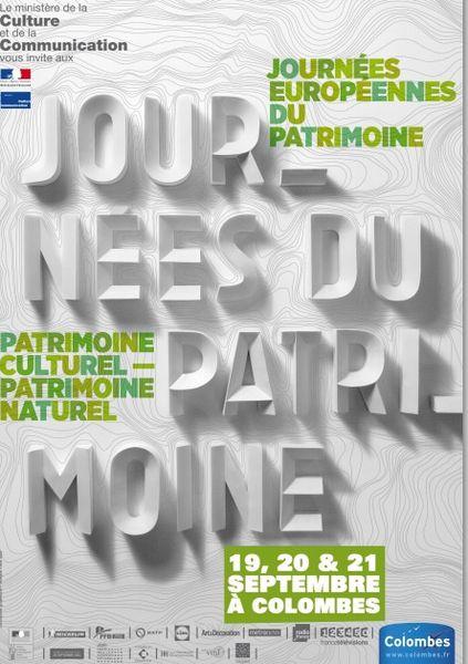 Journées Européennes du Patrimoine Colombes 2014