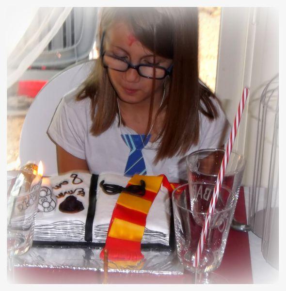 Anniversaire sur le thème &quot&#x3B;Harry Potter&quot&#x3B;
