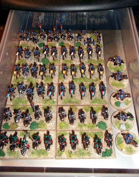 L'armée Prussienne 10mm enfin terminée....