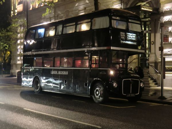 The Ghost bus Tour ...