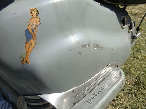 Le Lambretta d'Arlette...
