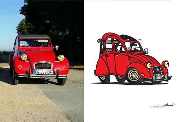 2cv Cartoon 4…
