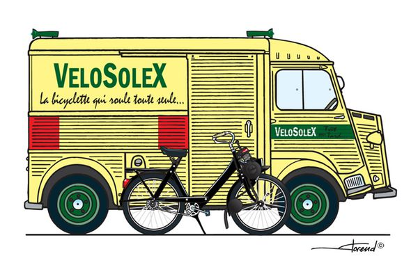 H VéloSolex by Florend