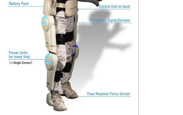 Un exosquelette pour handicapés reçoit le certificat CE