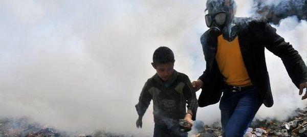 Des dizaines d'innocents assassinés au gaz chimique en Syrie : L'opposition armée Syrienne fait du « cinéma » avec des vies humaines