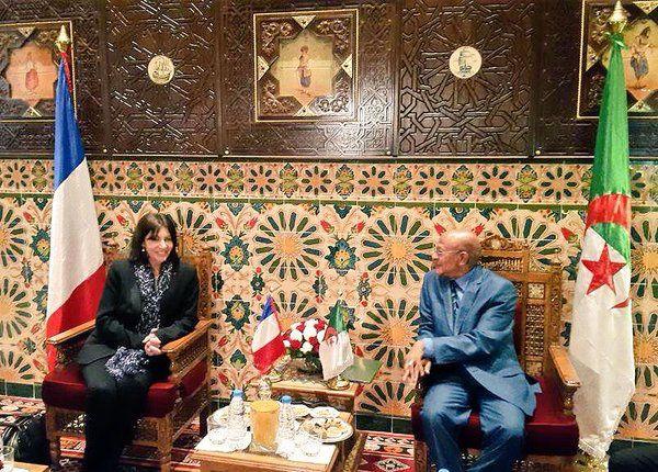 Anne Hidalgo en Algérie :  «Une relation bilatérale, d'une qualité exceptionnelle»