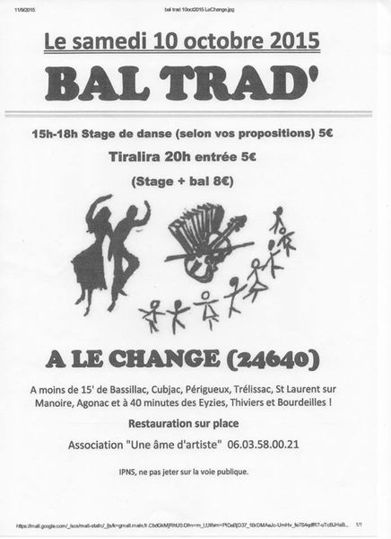 LE change 24 bal folk le 10 octobre 2015