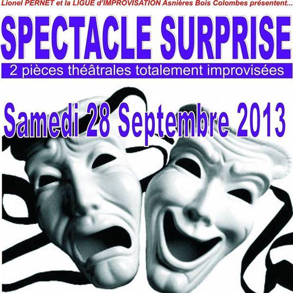 Samedi 28 septembre surpriseeeeeeeeeeee