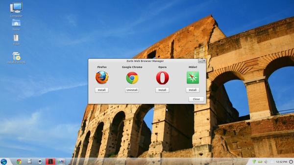 Zorin &#x3B;C'est comme Windows 7