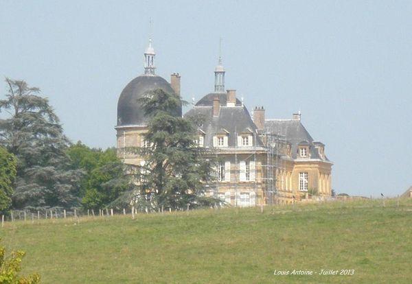 Le chateau de Digoine.