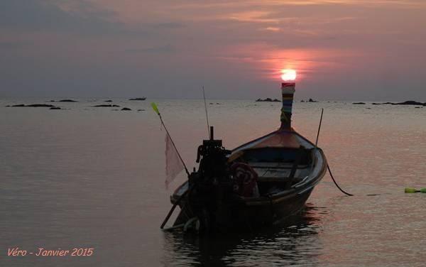 Coucher de soleil à Ko Libong