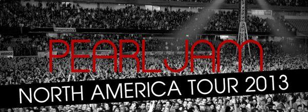 Pearl Jam : Tour 2013/2014...