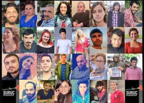 Turkio : du mortigaj atencoj en Suruç kaj Kobani