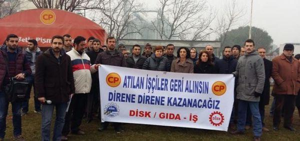 Turkio : Labourstart Kampanjo : La laboristoj de CP Chicken batalas kontraŭ salajraj malaltigoj