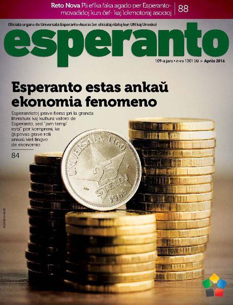 Revuo « Esperanto » : Enhavlisto de la aprila kajero