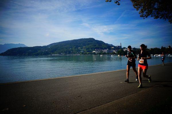 Mon premier dossard : le 10 km d'Annecy