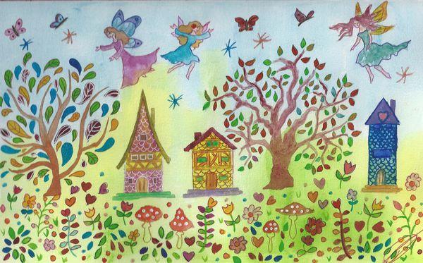 Un hameau des fées