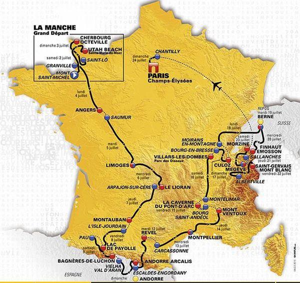 2016 Le Tour de France Pro.