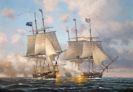 Les combats navals de l'année 1813