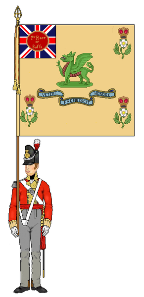 Le 3rd ( Kent ) Regiment of Foot &quot&#x3B;The Buffs&quot&#x3B; dans la guerre de 1812