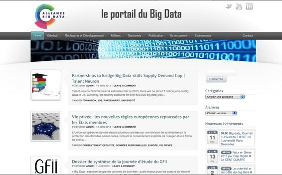 Alliance dans le Big Data