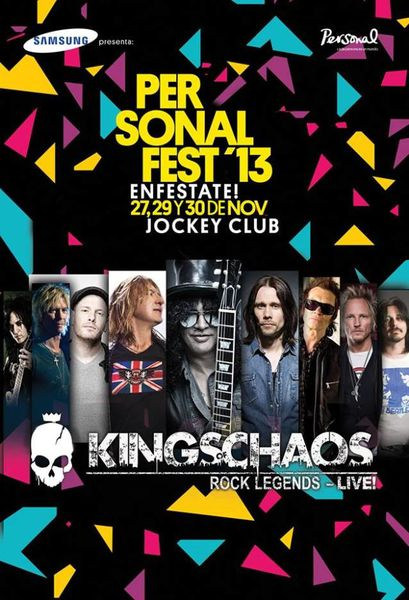 Kings Of Chaos- Live in Paraguay !