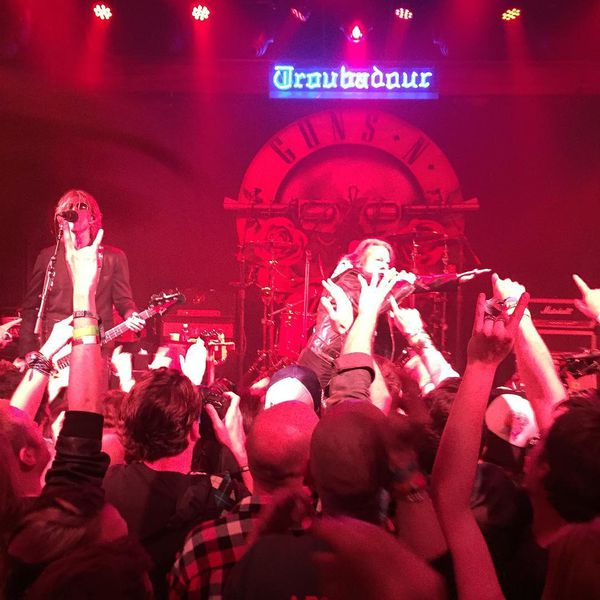 Guns N' Roses- Live At Troubadour !