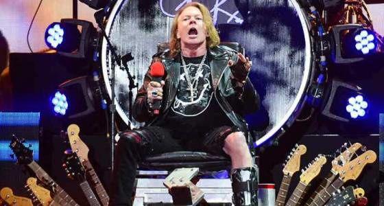 Les Guns N' Roses postent des vidéos promotionnelles pour la tournée des stades
