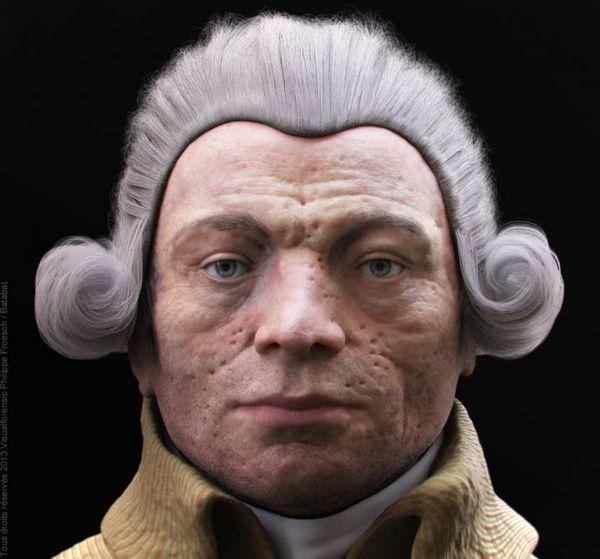 Robespierre a retrouvé sa tête
