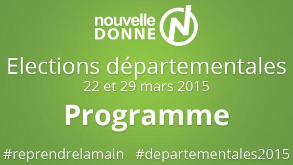A PROPOS DES ELECTIONS DEPARTEMENTALES : un communiqué de Nouvelle Donne Vosges