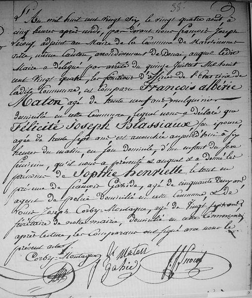 Le 24 août 1826...