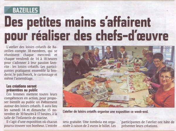 Un bel article !