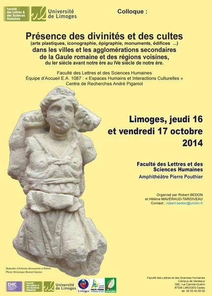 Colloque de Limoges