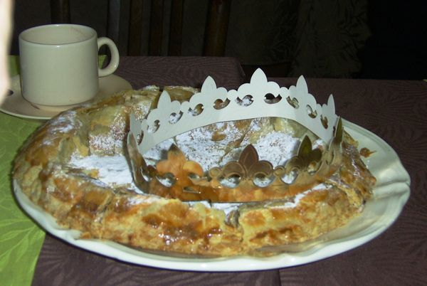 La galette des rois de PLUME