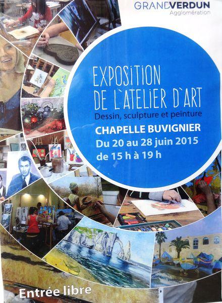 L'atelier d'art de Verdun expose à la chapelle Buvignier