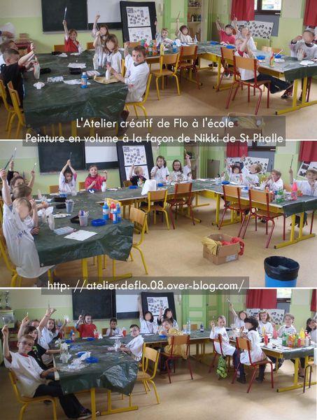 Les ateliers créatifs à l'école recommencent !