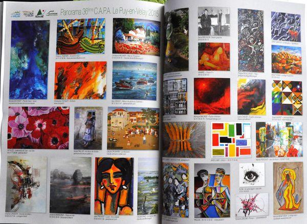 Magazine Univers des Arts (Juillet-Août) - Salon du Puy en Velay
