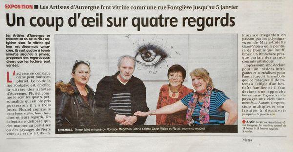 Article de Presse - La Montagne - Clermont Ferrand