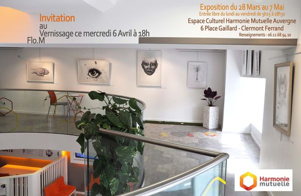 Exposition-Flo.M- Clermont Ferrand- Des Rêves à Croquer